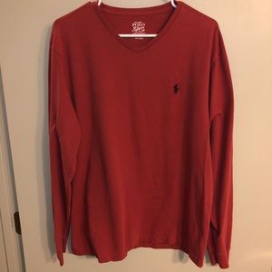 Polo Ralph Lauren v-neck long sleeve shirt